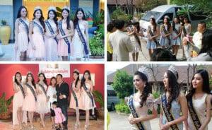 Miss Thailand 2014 Graces Hua Hin