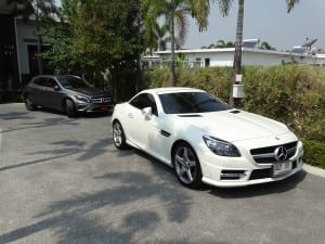 Mercedes Benz Road Cruise 2015 in Villas Lotus & Resort Hua Hin