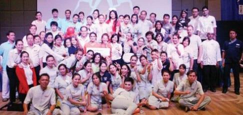 Teamwork at The Hilton Hua Hin Resort & Spa