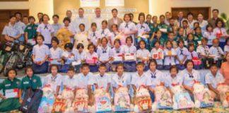 The Annual Scholarship Donation Ceremony at Centara Grand Beach Resort & Villas Hua Hin
