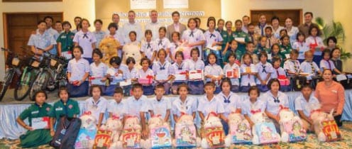 The Annual Scholarship Donation Ceremony at Centara Grand Beach Resort & Villas Hua Hin