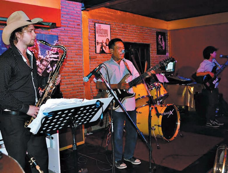 The Saxophone Lounge