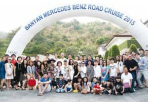 Banyan Mercedes-Benz Road Cruise 2015 A first-ever event in Hua Hin raising funds for charity