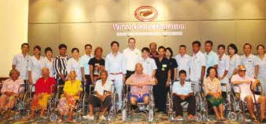 Donate Wheelchairs