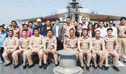 Hua Hin Mayor Admires the Royal Fleet