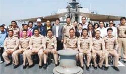 Hua Hin Mayor Admires the Royal Fleet