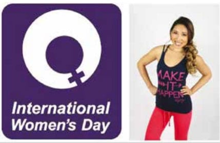 International Women's Day 2015 'MAKE IT HAPPEN'