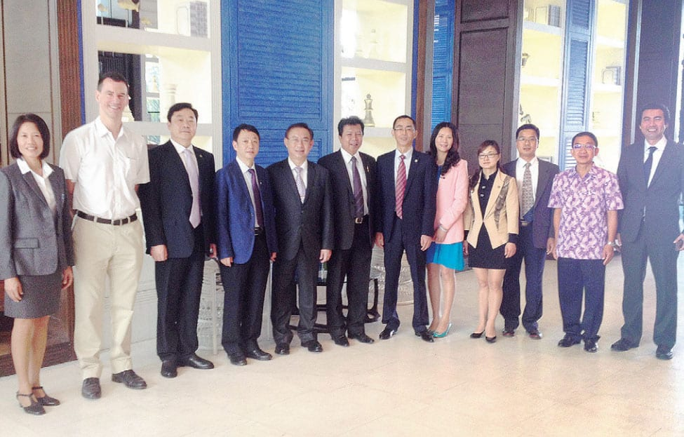 Amari Hua Hin Welcomes the Development Committee from The Sister City of Leshan