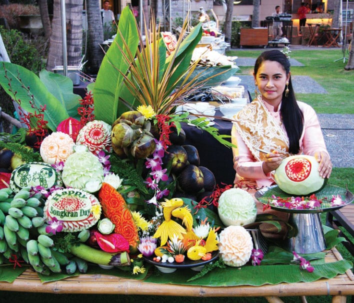Songkran Day Thai New Year 2015