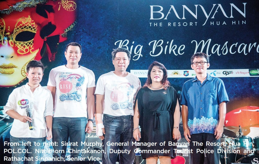 Big Bike Mascarade A charity event to raise funds for the Hua Hin Hospital