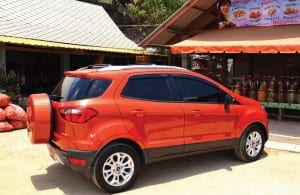 Driving The All-New Ford EcoSport