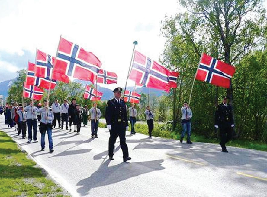 Norwegian National Day 2015 May 17th