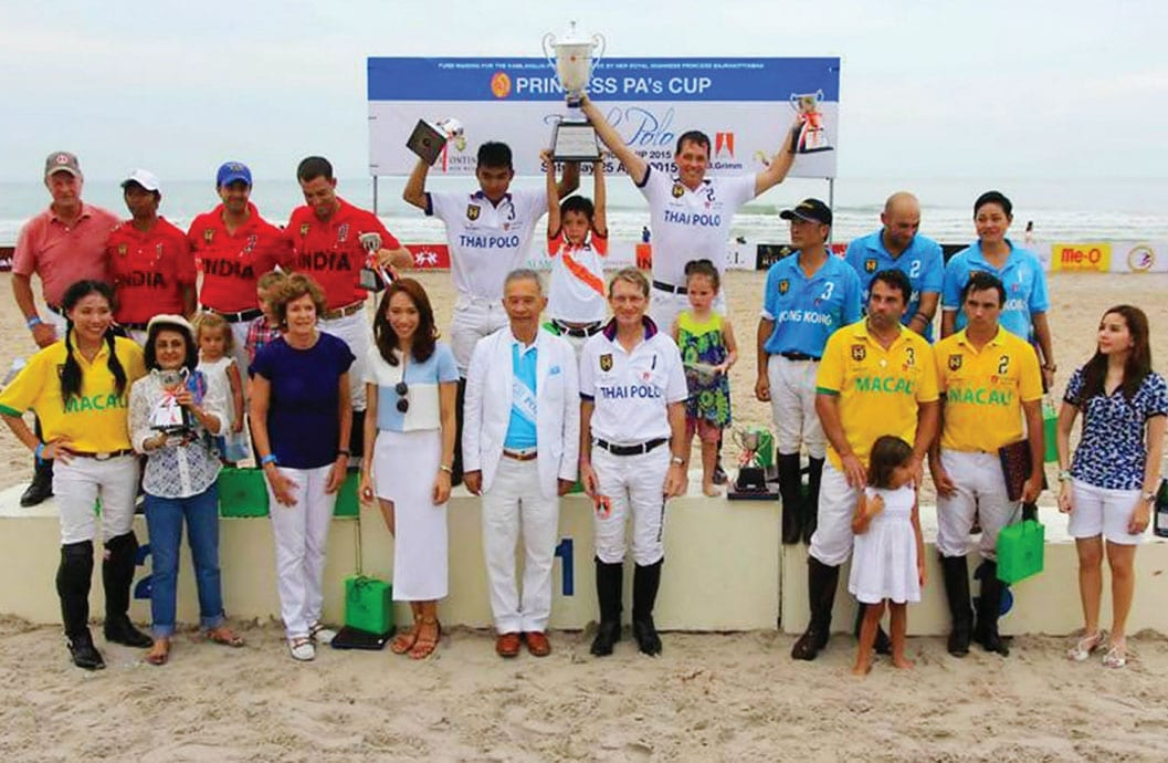 The Asian Beach Polo Championship 2015
