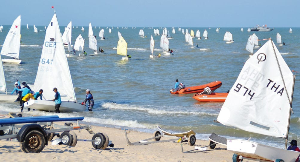 The Sailing Club Hua Hin Welcomes the 2015 Regatta