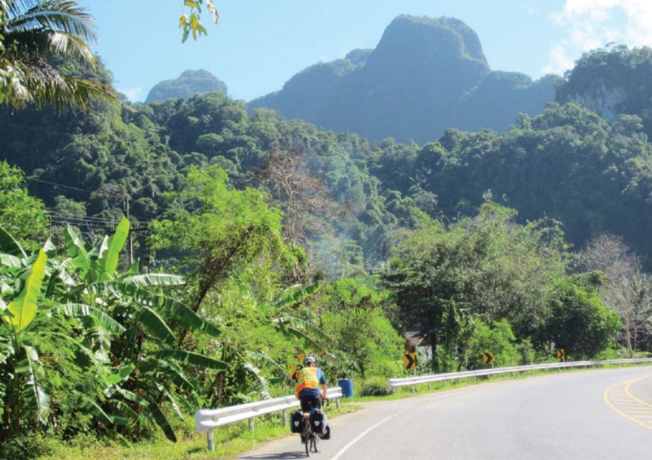 Touring Cyclists in Hua Hin