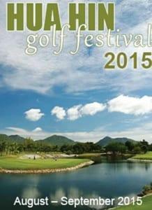 Hua Hin Cha Am Golf Festival 2015