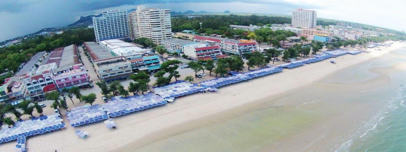 Cha-Am Beach Umbrella Upgrade