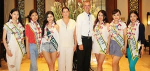 "Intercontinental Hua Hin Resort & Hua Hin Municipality welcomed ""Miss Earth China 2014"""
