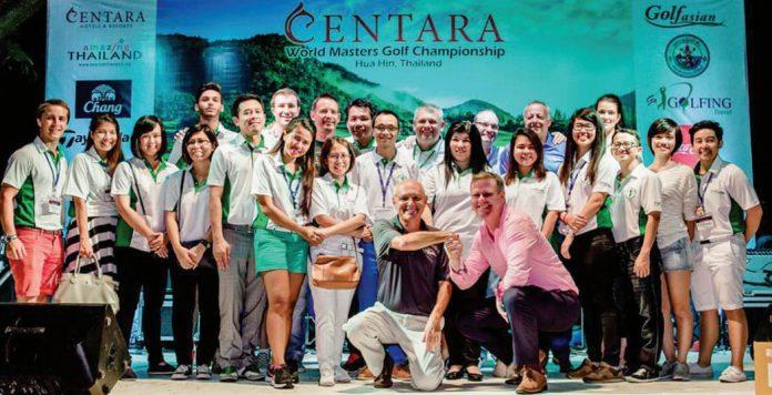 Centara Grand Beach Resort & Villas Hua Hin Is a Major Sponsor for Second Consecutive Year of the Centara World Masters Golf Championship 2015