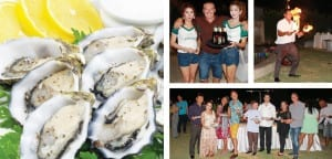 Oysters, Beer and Sexy Dancers at Banyan Resort!