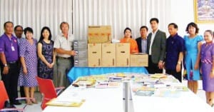 SKAL Donation of Library Books and Computers