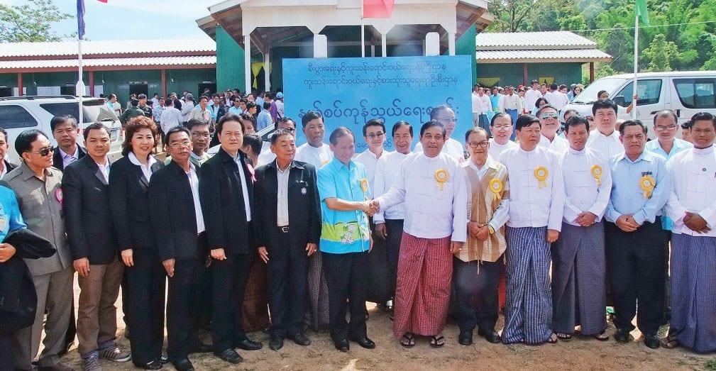 Thai-Burmese Fair Open