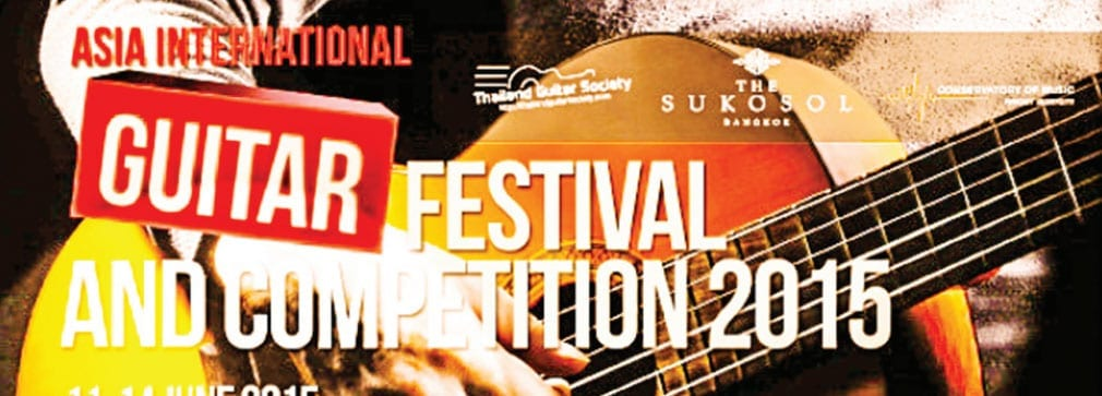 The Asia International Guitar Festival Competition 2015