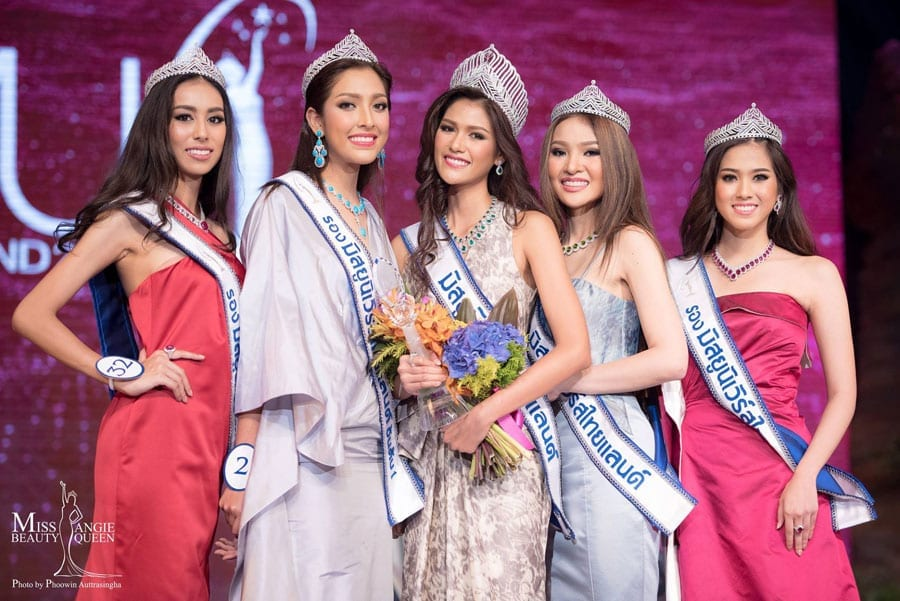 Miss Thailand Universe 2015 Crowned