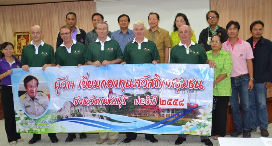 Building Bridges Thailand (Cha-Am) Meet Tambon Leaders