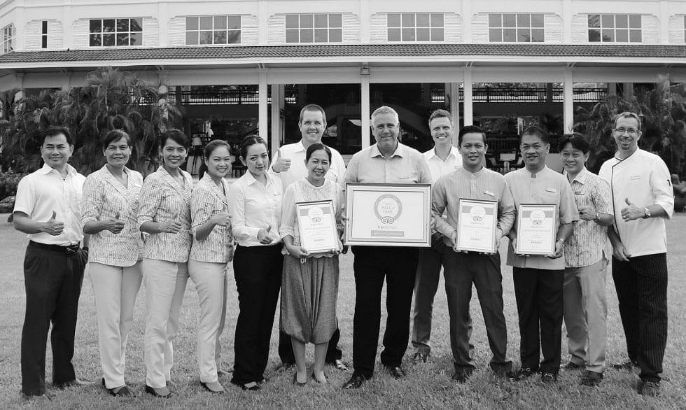 Centara Grand Beach Resort & Villas Hua Hin Won the Certificate of Excellence
