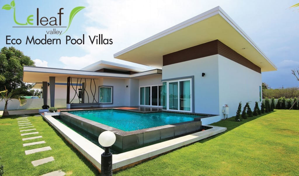 Eco Modern Pool Villas