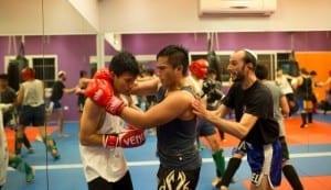 Thai Boxing Class Cape Nidhra Hotel
