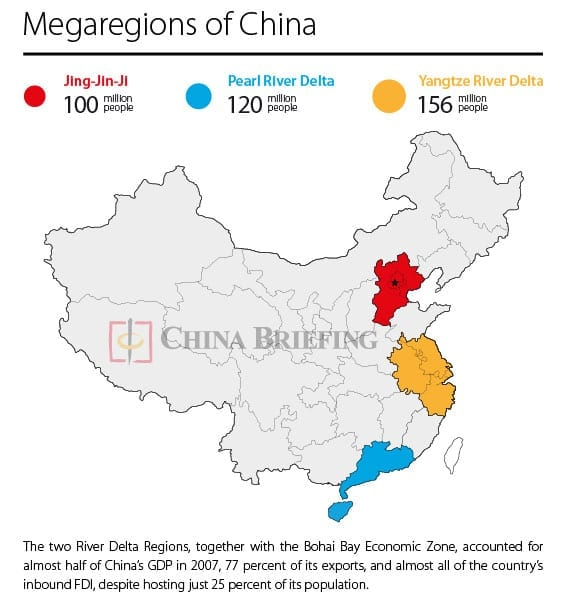 China's Megaregions – The Future of Something More Than A Big City