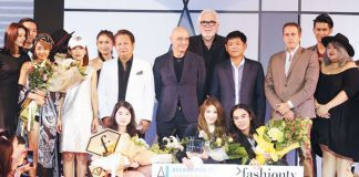 Accademia Italiana Fashion Show in Bangkok