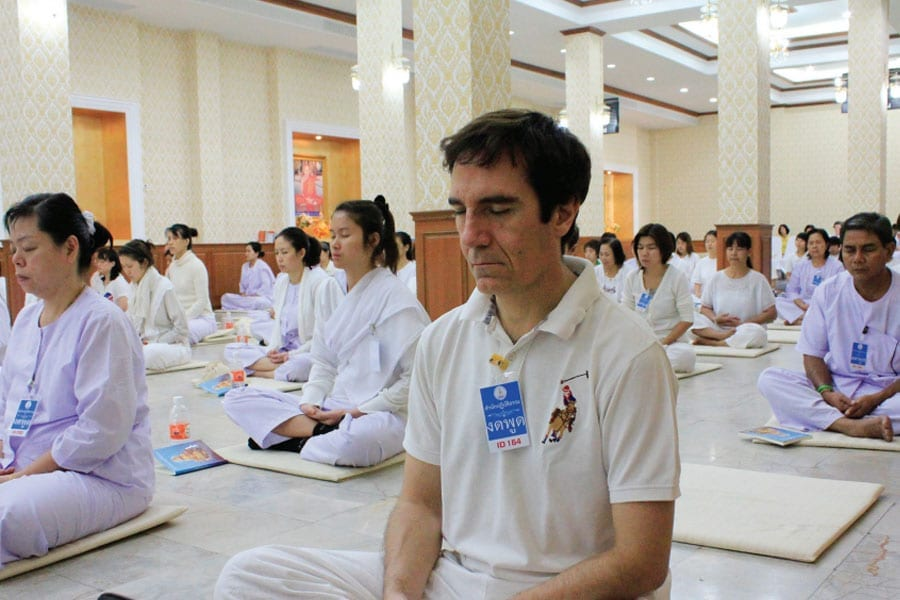 Buddhist Meditation in Hua Hin