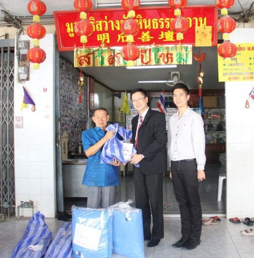 Donating Multi-purpose Tents to Sawang Tham Rescue Hua Hin