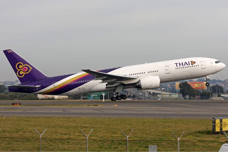 THAI Continues Operations to Oslo, Norway