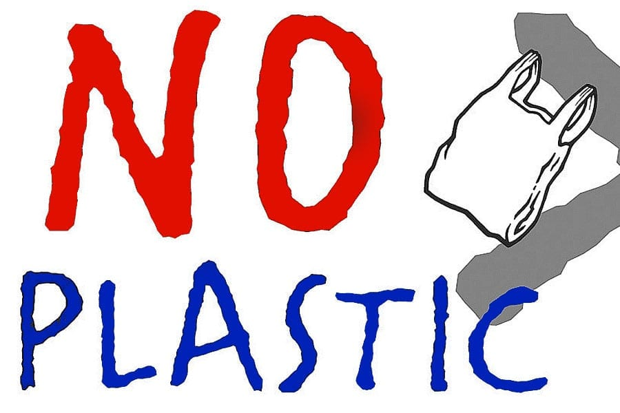 No Plastic Shopping Day Each Month