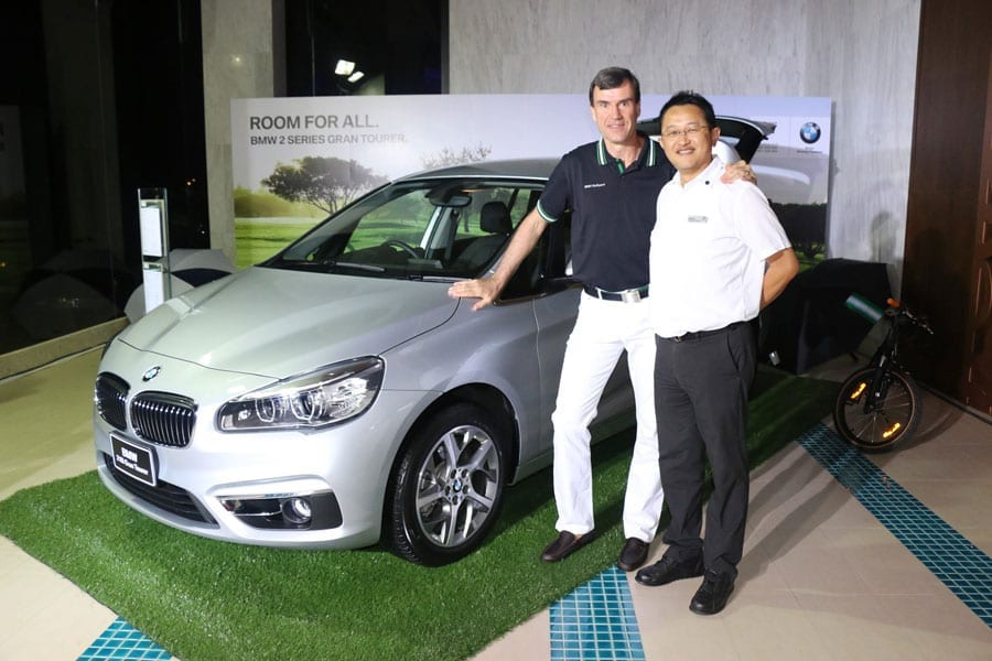 BMW Golf Club International Exclusive Dinner Reception at Sheraton Hua Hin Resort & Spa
