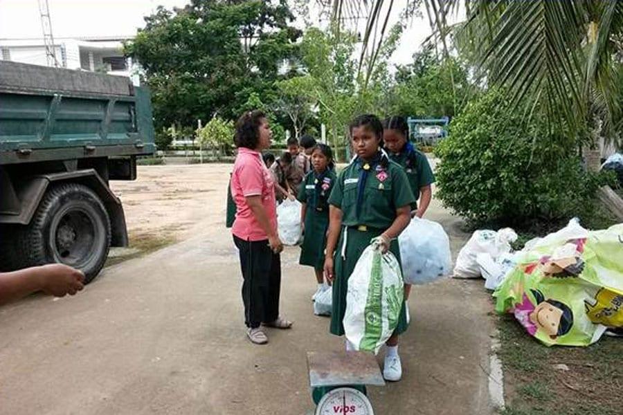 Ban Boh Fai School Wins Zero Waste Award
