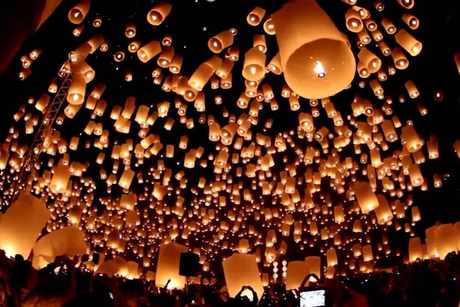 Float All Your Troubles Away Loy Krathong