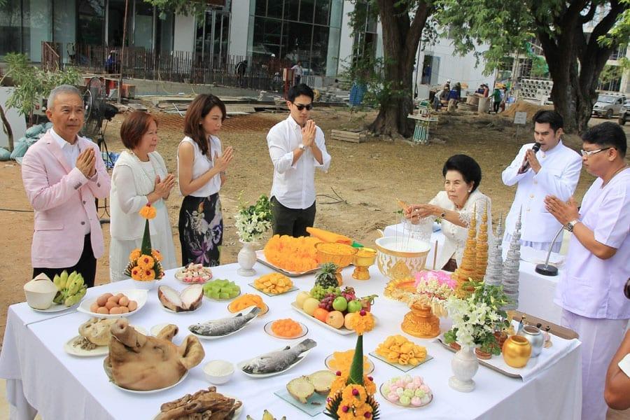 spirit shrine ceremony