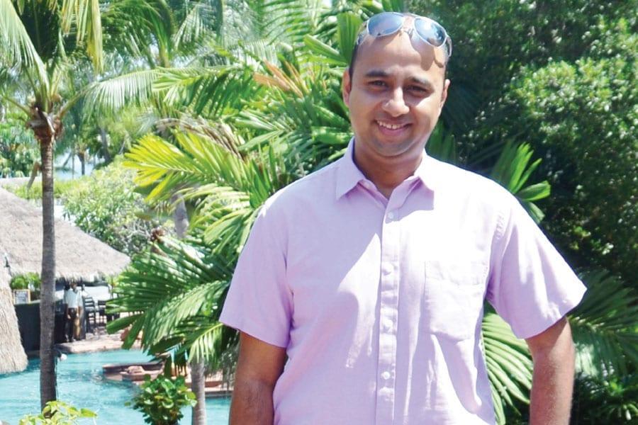 At the Anantara Resort Hua Hin; Manesh Jha has the 'Runs On The Board'
