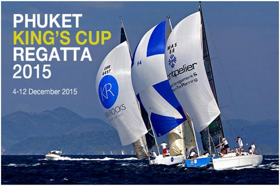 Phuket King's Cup Regatta 2015
