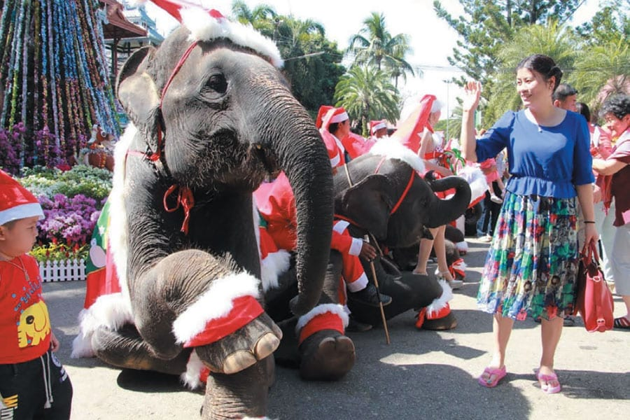 Santa Is Coming To Thailand