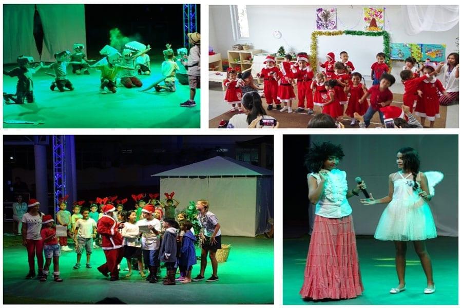 First Christmas at Hua Hin International school