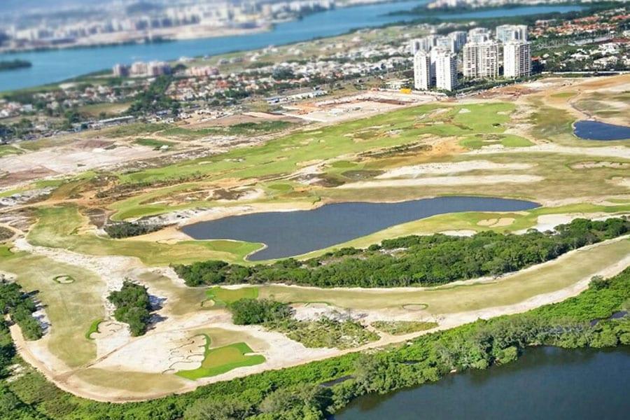 2016 Golfing Olympics In Rio