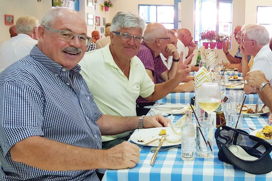 Swedish Association Gathers at The Greek Taverna