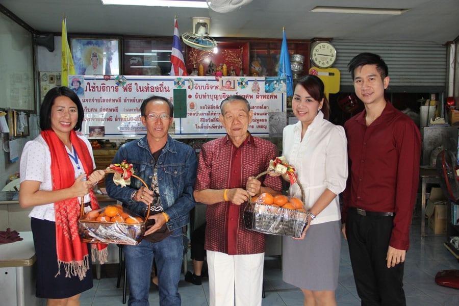 Bangkok Hospital Chinese New Year Donation