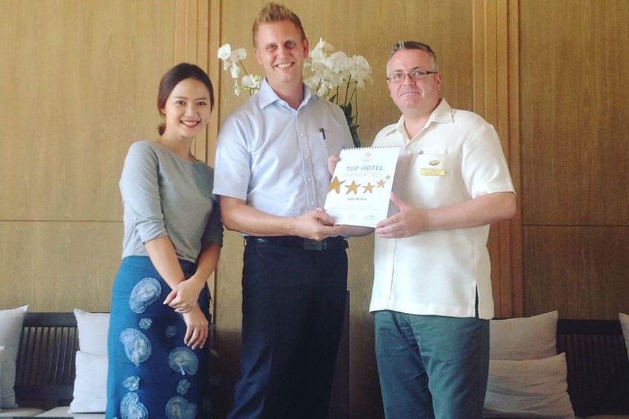 Cape Nidhra Hotel Hua Hin Award